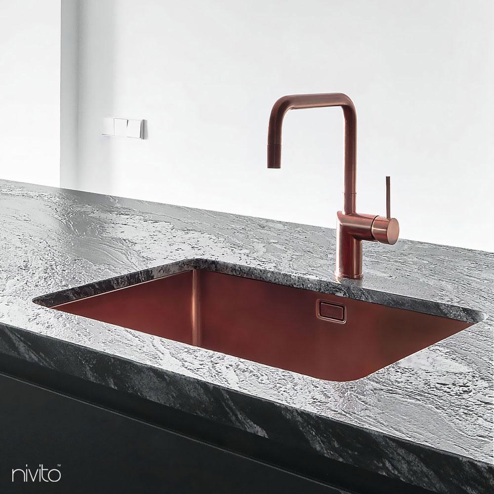 铜 厨房水槽
