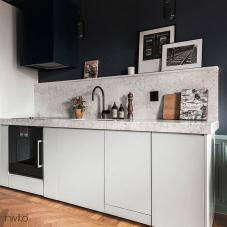 黑色 厨房水龙头 - Nivito 1-RH-120