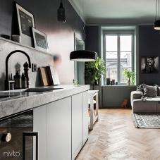 黑色 厨房水龙头 - Nivito 2-RH-120