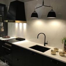黑色 厨房水龙头 - Nivito 7-RH-120