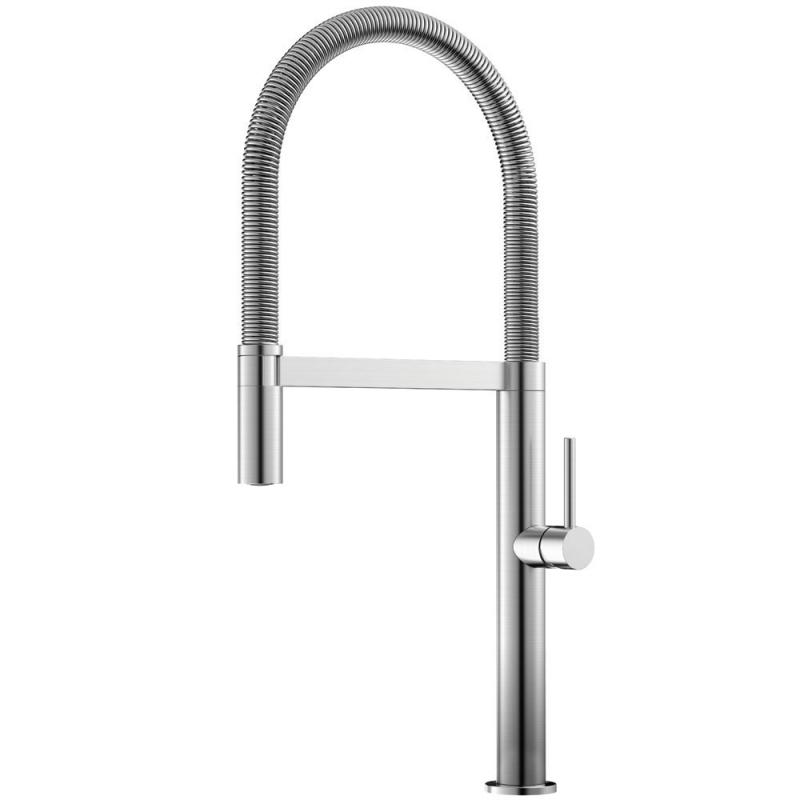 不锈钢 厨房水龙头 可拉出式软管 - Nivito SH-100