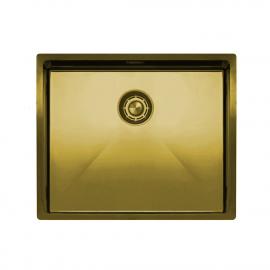 黄金/黄铜 厨房大盆 - Nivito CU-500-BB