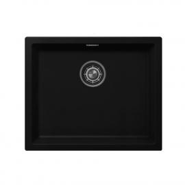 黑色 厨房大盆 - Nivito CU-500-GR-BL