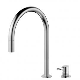 不锈钢 厨房水龙头 可拉出式软管 / 可分离式主体/管道 - Nivito RH-100-VI