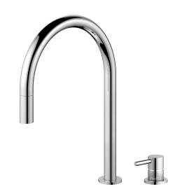 厨房水龙头 可拉出式软管 / 可分离式主体/管道 - Nivito RH-110-VI