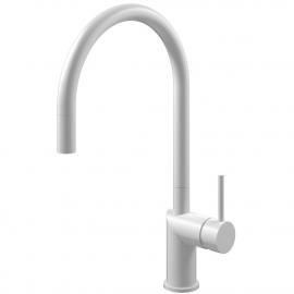 白色 厨房水龙头 可拉出式软管 - Nivito RH-130-EX