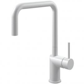 白色 厨房水龙头 可拉出式软管 - Nivito RH-330-EX