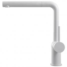 白色 厨房水龙头 可拉出式软管 - Nivito RH-630-EX